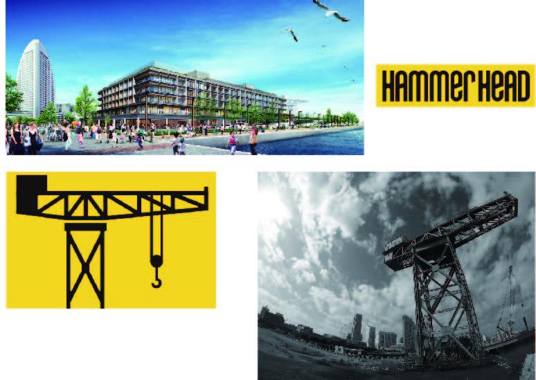 ハンマーヘッド自立可動式筐体イメージ